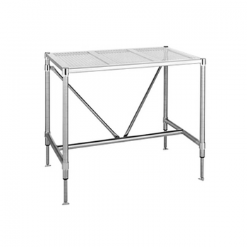 Stainless Steel HD Perf Top Table