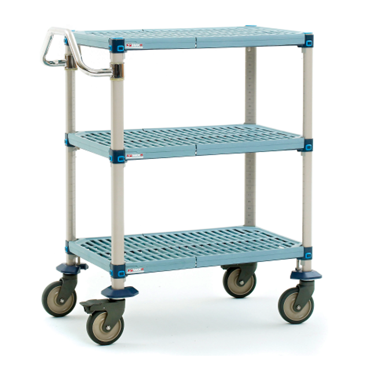 MetroMax Q 3 Tier Open Grid Utility Cart