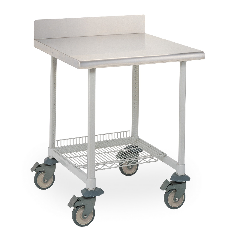 Superbe MetroMax I Mobile Lab Table (Stainless Steel)